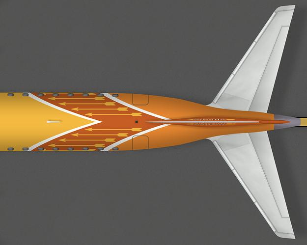 ArrowByCLM E190 Tail