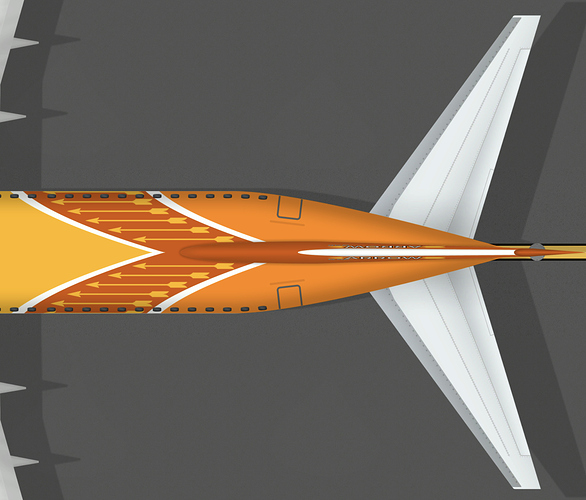 ArrowByCLM B738 Tail