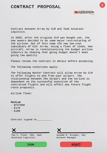 ArrowbyCLM Contract
