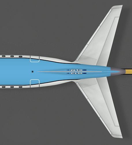 CLM E190 Tail