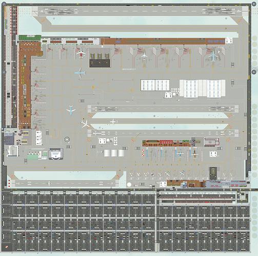 full airport