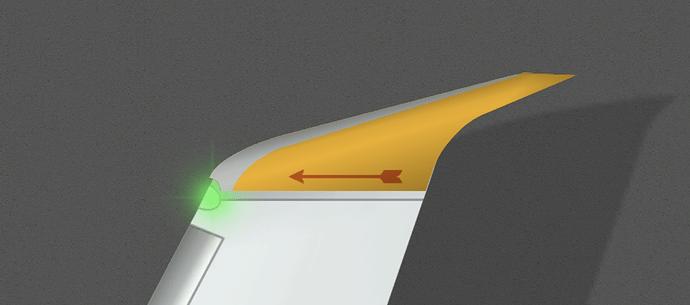 ArrowByCLM B738 Winglet